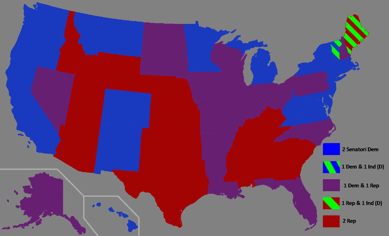 Verso le midterm elections la situazione di partenza al for Senato composizione