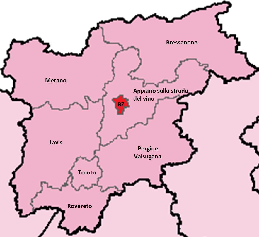 Cartina Del Trentino Alto Adige Politica.Italicum Come Funzionera In Trentino Alto Adige Cise