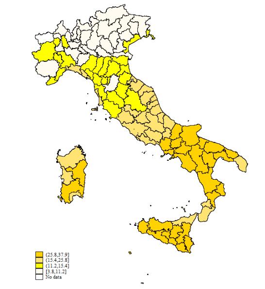Mappa M5s